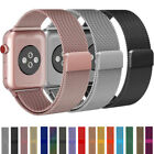 38-44mm For Apple Watch 6/5/4/3/2/1/SE Magnetic Milanese Loop Band iWatch Strap