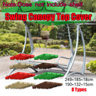Cover  Replacement For Outdoor Patio Swing Canopy Porch Garden Bench Hammock Top