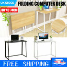 Foldable Computer Desk Home Office Laptop PC Table Study Gaming Workstation UK