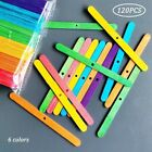 100/120Pcs Reusable Wooden Wicks Holders DIY Incense Candle Tools 4.4 Inch