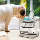 Pet Dog Cat Drinking Fountain Automatic Drink Water Bowl 1.5L Drinker Dispenser