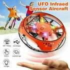 360° Mini UFO Drone RC Infrared Sensor Induction Aircraft Quadcopter Flying Toy