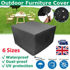 Waterproof Garden Patio Furniture Cover Outdoor Rattan Table Cube Seat Cover Kit