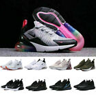 Uk Womens Mens Air Max 270 Running Sports Trainers Sneakers Breathable Shoes