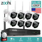 ANRAN 8CH 1080P Outdoor Wireless Security Camera System Wifi NVR Home 1/2TB HDD
