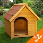 Spike Classic Dog Kennel Outdoor Waterproof Wooden Roof Pet Shelter Cover