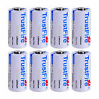 Trustfire Lithium Battery CR123A 123A 1400mAh 85177 3.0V Batteries For Camera