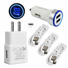 Fast Car Charger Wall Adapter 5FT/1.5M Charging Cable For ZTE AXON 20 10 9 Pro 7