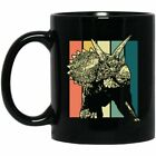 Retro Triceratops Horns Prehistoric Coffee Cup, Triceratops Gift Mug