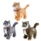 Electronic Plush Pet Cat Stuffed Meow Toys for Kids Boys and Girls 22x21cm