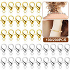 Lot DIY Strong Magnetic Lobster Claw Lock Clasps Necklace Bracelet Jewelry Hook