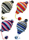 LADIES RETRO FUNKY MULTI COLOUR PERUVIAN INCA SKI HAT