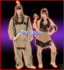 FUN COMBO - DELUXE INDIAN LADY & INDIAN MAN 2 COSTUMES