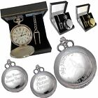 Engraved Pocket Watch Confirmation - Naming Day Gift S