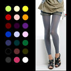 80D OPAQUE FOOTLESS LEGGINGS Color Tights Skinny Nylon