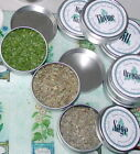Kitchen Spice Rack Tins~sets of 5 and 10~popular herbs