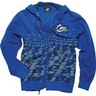One Industries Mens Phase Zip Hoodie Sweatshirt Blue MX ATV Off Road Motocross