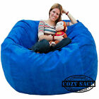 Bean Bag Chairs by Cozy Sack Factory Direct 5 Cozy Foam Filled Microfiber Cover