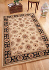 Cairo Beige Brown Traditional Persian Style Quality Wool Rug Small Large 5 Sizes