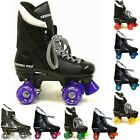 NEW CALIFORNIA VENTRO TURBO VT01 KIDS MEN WOMEN WHEEL QUAD ROLLER SKATES BOOTS