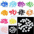 30 X Acrylic Flower Rhinestones For 3D Nail Art Tips Decorations