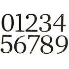 "New 4"" Oil-Rubbed Venetian Bronze Home Address House Number 0 1 2 3 4 5 6 7 8 9"