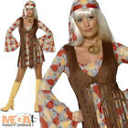 1960s Groovy Hippie Baby Fancy Dress Ladies Hippy Costume 60s UK  8-16