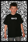 011B Kindershirt TShirt Fun Lucky Fashion ABCD AB/CD