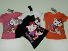 BNWT Girls Pussy Cat Top with Ruched Sleeves 4 - 8/9