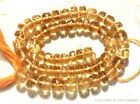 Citrine 8mm-15mm (1 Large Checkerboard Faceted Rondelle) Select-A-Size A++