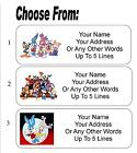 30 Tiny Toons Personalized Address Labels