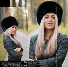 FULL FUR original russian shapka hat Silver/Grey/White/Black/Brown Ranched Fox