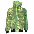 Grenade Skelter Full Zip Hoodie Green Men's