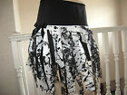 NEW Black White Velvet Lace Mesh tatty  Mini Skirt Punk Witchy Gothic All sizes