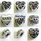 MUM Grandma NANA Daughter WIFE Love ~ Beads to Personalise your Charm Bracelet