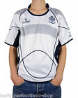 Mens Rugby Nations Scotland Top, White, Crew Neck, All Sizes