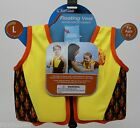 Surf Club Yellow Child Floating Life Vest Medium 25-26 in Large 27-28 in Chest