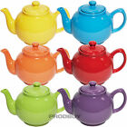 Large Bright 6 Cup Ceramic Teapot Price & Kensington Plain Colour Tea Coffee Pot