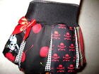 NEW Goth,Punk,Rock,Black,White,red mixed skulls,tartan,cherries Skirt-All sizes