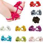 Top Baby Cotton Shoes Flower Design Baby Prewalker Infant Shoes Barefoot Sandals
