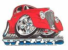 1933 WILLYS STREET ROD DRAG CAR GASSER SWEATSHIRT CC153