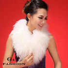 0382 Genuine Mongolian Sheep Fur Fur Scarf Scarves Wrap Neck Warmer Shawl Stole