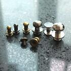 "50 Head Button Studs Screwback Leather bag spot 5mm 6mm 10mm 12mm 1/4"" 3/8"" 1/2"""