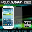 Clear Screen Protector Film Wholesale Samsung Galaxy S3 i9300 T999 i535 L710