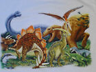 Kids Dinosaur t shirt heat press design dinosaur print free ship 1 USA address