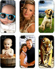 Personalized Photo iPhone 5 Custom Picture on TPU Hard Case Cover BLACK COLOR