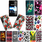 FOR SONY XPERIA T LT30i LT30P STYLISH PRINTED HARD SHELL CASE PROTECTION COVER