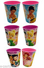 (2) DISNEY FAIRIES 16oz Reusable KEEPSAKE CUPS ~ Birthday PARTY SUPPLIES cups
