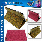 Deluxe Leather Leopard Style Cheeta Flip Case Stylish Stand Cover for iPad Mini