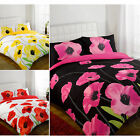POPPY FLORAL Duvet Cover Bedding Quilt Cover Bed Set